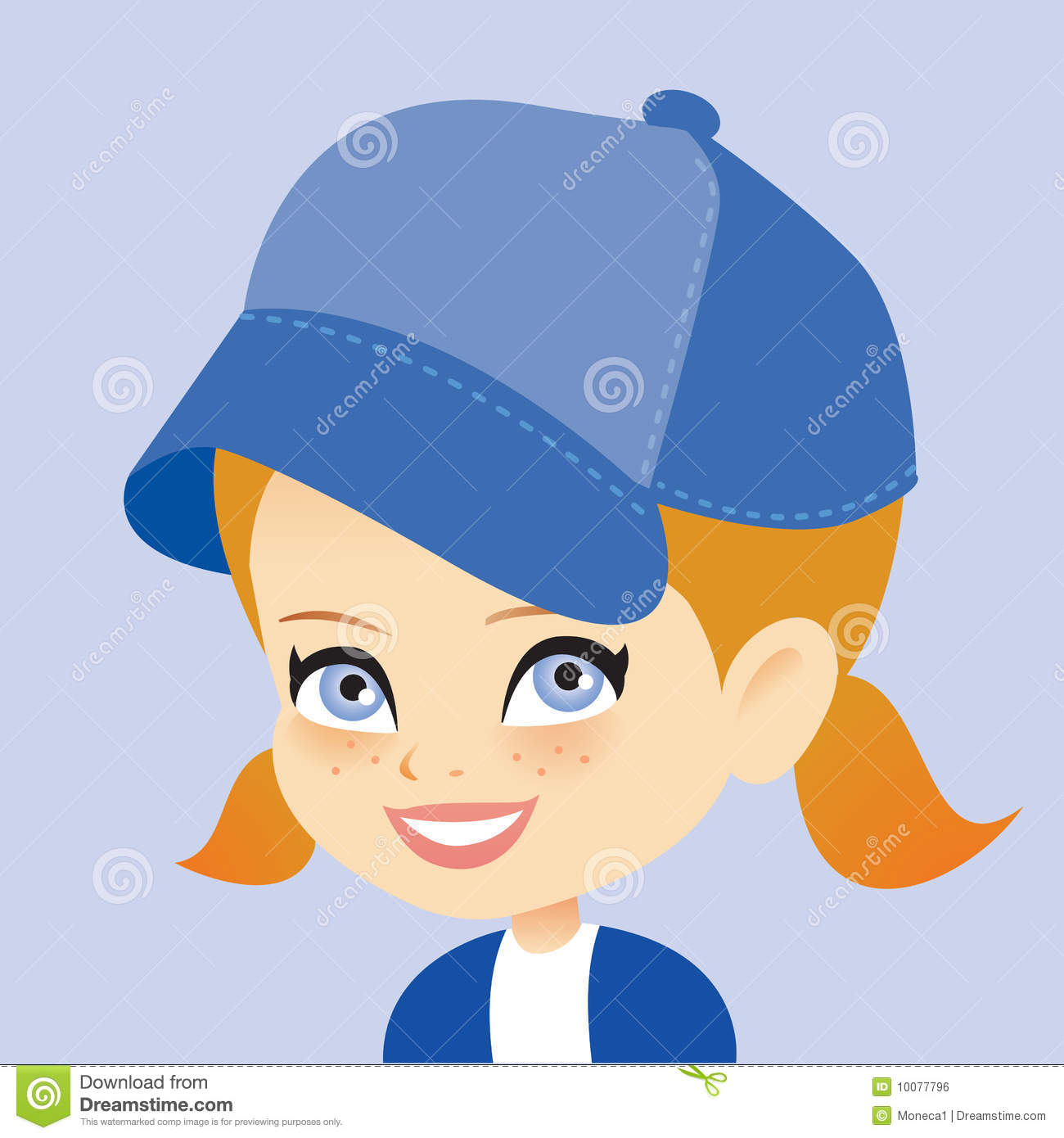 Showing post & media for Cartoon girl with cap.