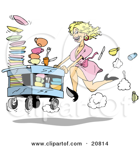 Showing post & media for Dirty dish clip art cartoon.