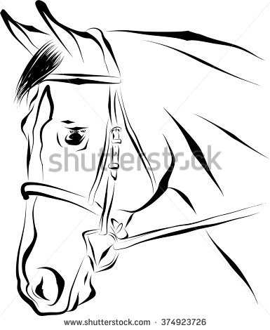Bridle Stock Vectors, Images & Vector Art.