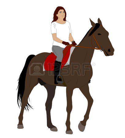 5,412 Horse Rider Stock Vector Illustration And Royalty Free Horse.