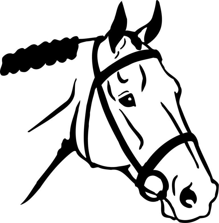 Horse clipart printable.