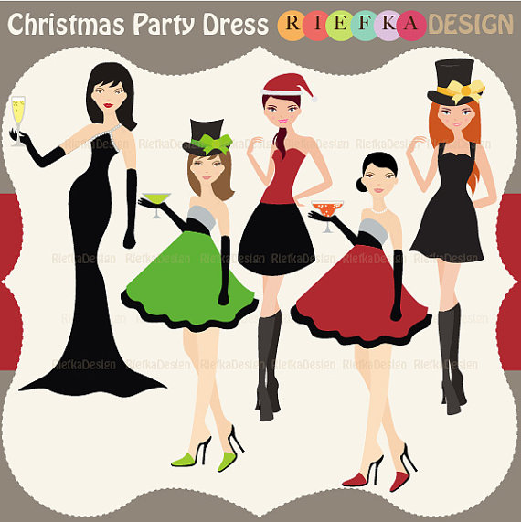 Items similar to Christmas Party dress.
