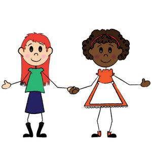Black Girl And White Girl.