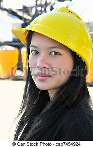 girl civil engineer clipart #4