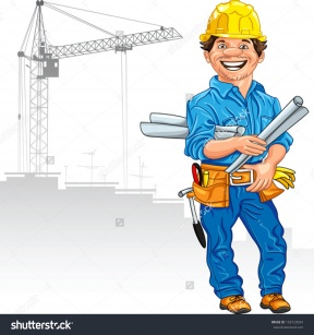 girl civil engineer clipart #2