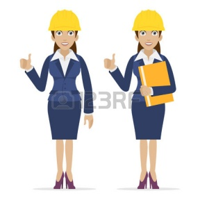 girl civil engineer clipart #18