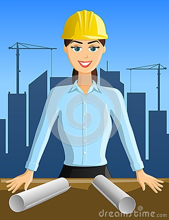 girl civil engineer clipart #13