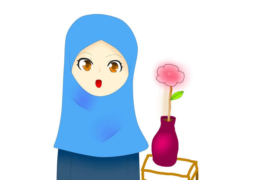 Girl in Hijab by NatsuSuzuki on DeviantArt.