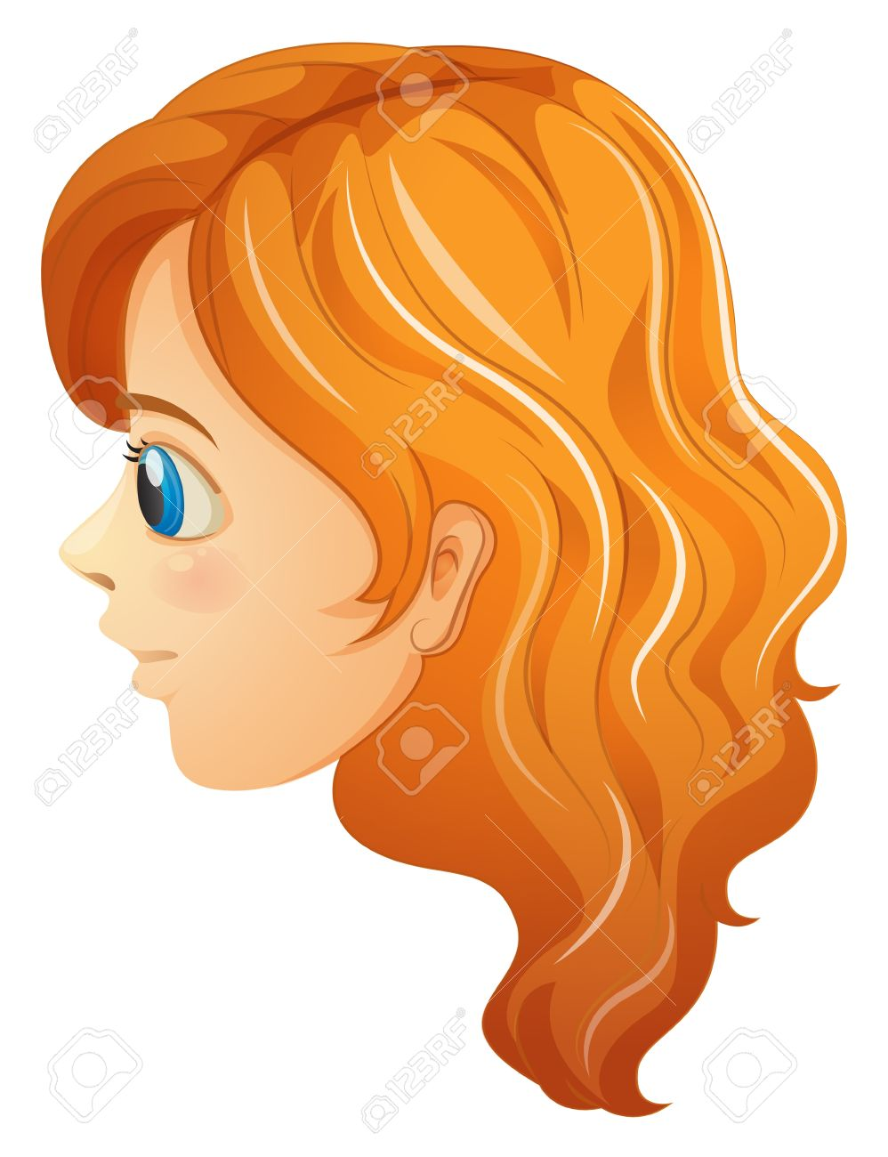 4,432 Woman Side View Stock Vector Illustration And Royalty Free.