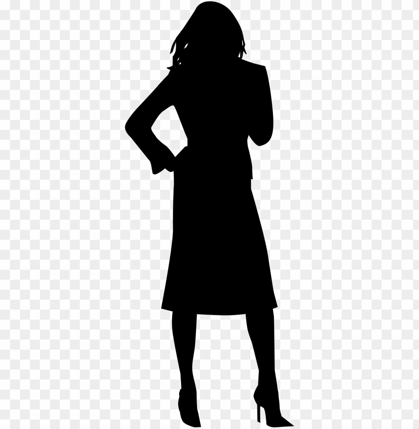 silhouette png image.