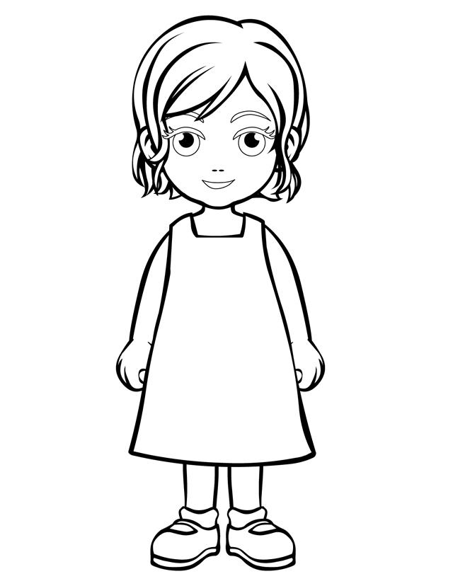 Coloring Pages For Girls.