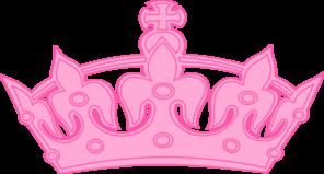 Pink Crown Clip Art at Clker.com.