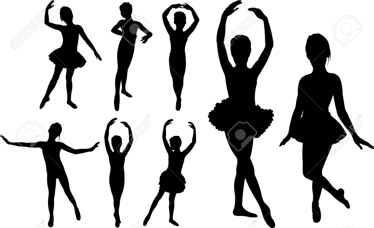 6,751 Ballet Dancer Stock Vector Illustration And Royalty Free.