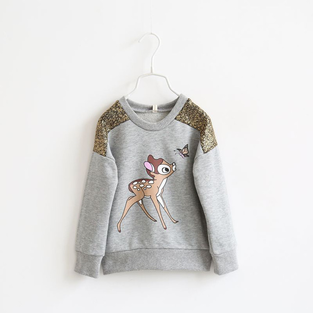 Aliexpress.com : Buy kids deer t shirt cartoon hoodies kids.