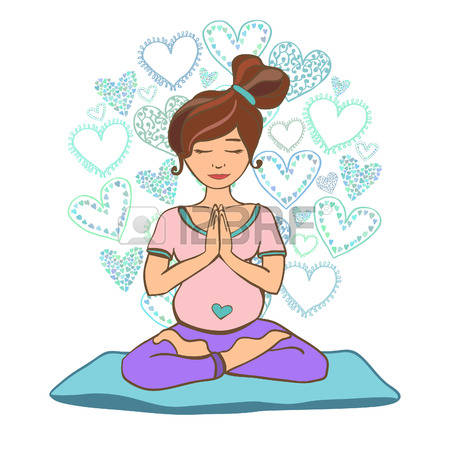 381 Pregnant Yoga Poses Stock Illustrations, Cliparts And Royalty.