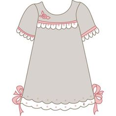 girl dressed clipart #9