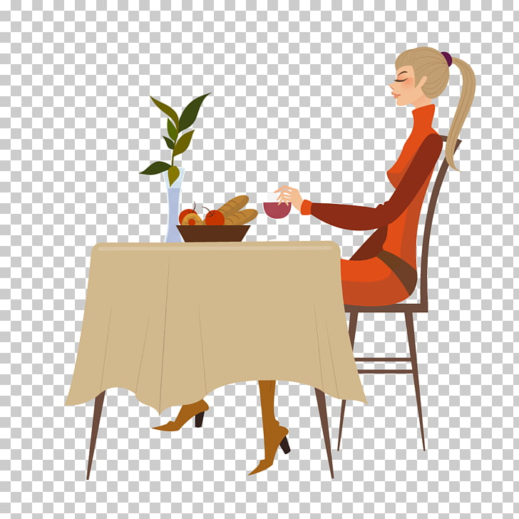 Wine cellar , Girl at the table drinking wine PNG clipart.