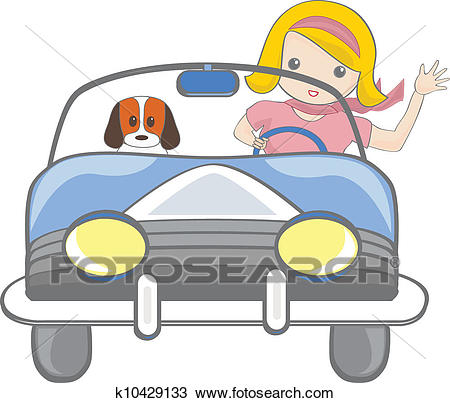 Girl driving clipart 6 » Clipart Station.