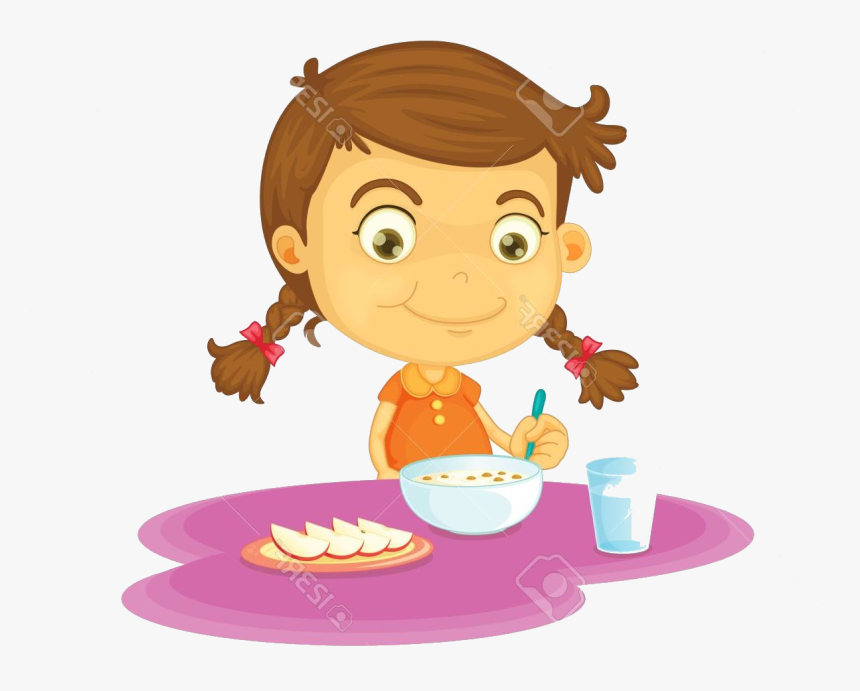 Eating Have Breakfast Clipart Child Food Children.