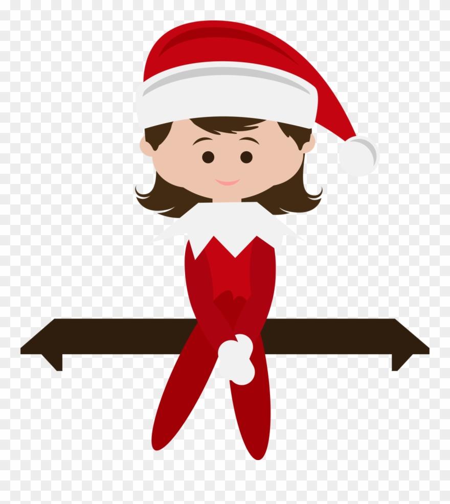 The Elf On The Shelf Clipart (#4521284).