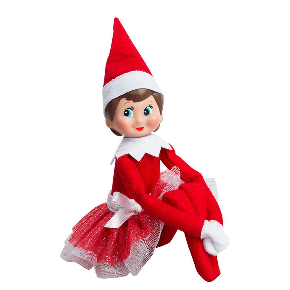 Elf On The Shelf Clipart Boy And Girl.