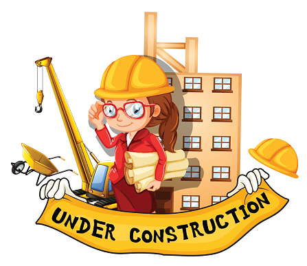 Female Engineer Clip Art, Vector Images & Illustrations.