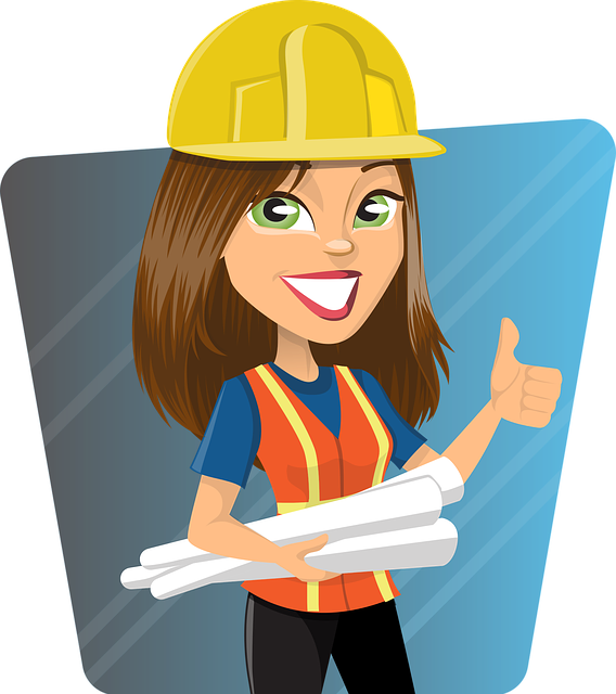 Free vector graphic: Woman, Engineer, Work, Worker, Lady.