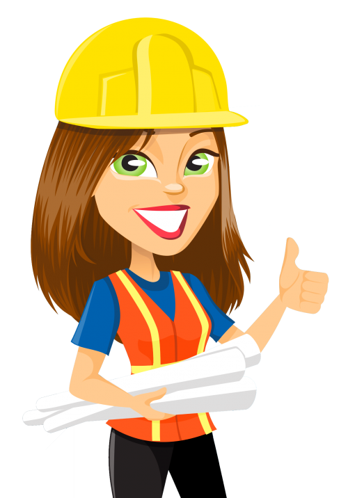 girl engineer clipart - Clipground
