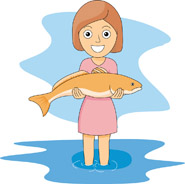 Free Girl Fishing Cliparts, Download Free Clip Art, Free.