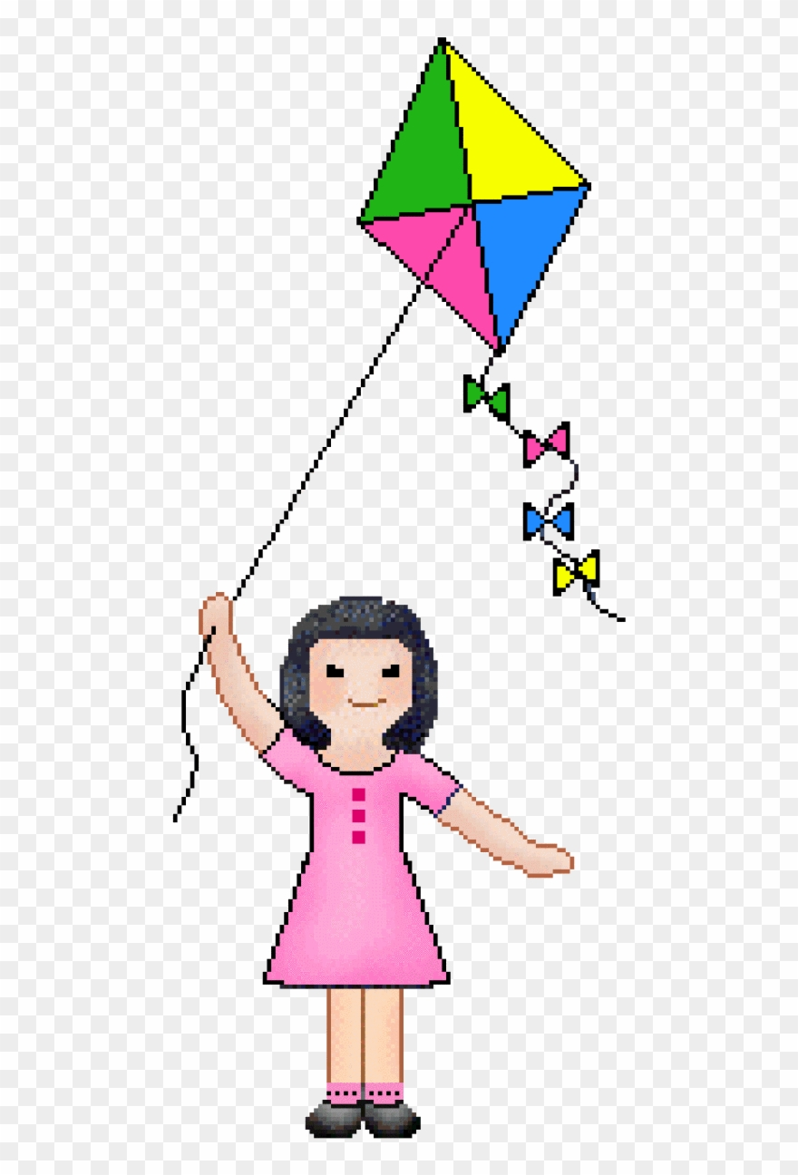 Clip Art Of Kite.