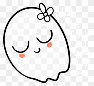 Free PNG Girl Ghost Clip Art Download.