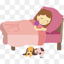 Girl Go To Sleep Png & Free Girl Go To Sleep.png Transparent Images.