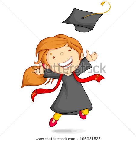 Kindergarten Graduation Stock Images, Royalty.