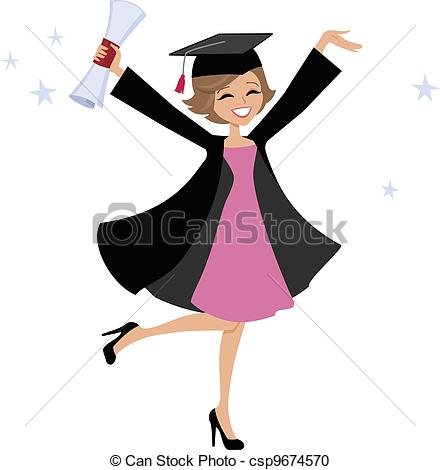 Graduate Clipart and Stock Illustrations. 46,134 Graduate vector.