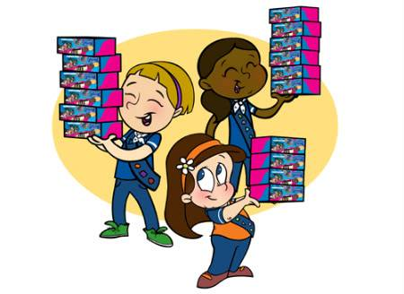 Collection of 14 free Brownie clipart girl guides aztec clipart.