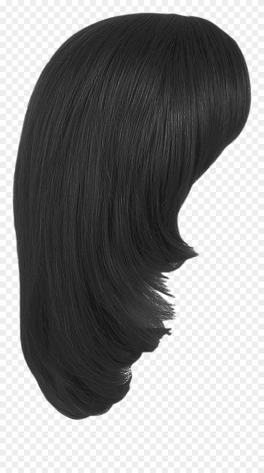 Girl Hair Png Transparent Image.