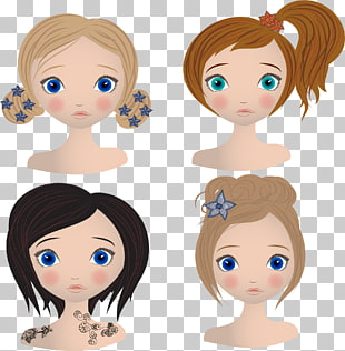 9,218 girl Hairstyle PNG cliparts for free download.