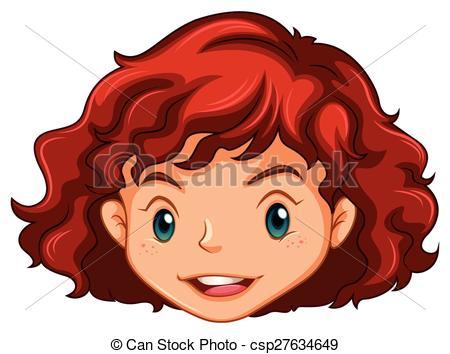 Girl head clipart » Clipart Station.