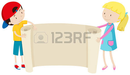 20,582 Holding Paper Stock Vector Illustration And Royalty Free.