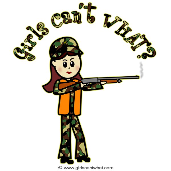 Hunting clipart woman hunter, Hunting woman hunter Transparent FREE.