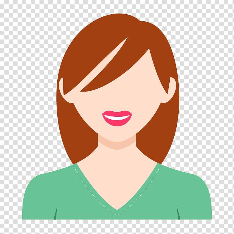 Woman illustration, User profile Avatar Woman Icon, Girl.