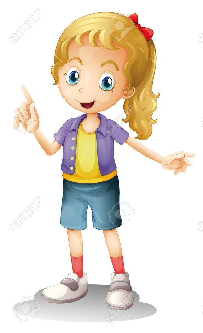 Girl clipart 6 » Clipart Station.