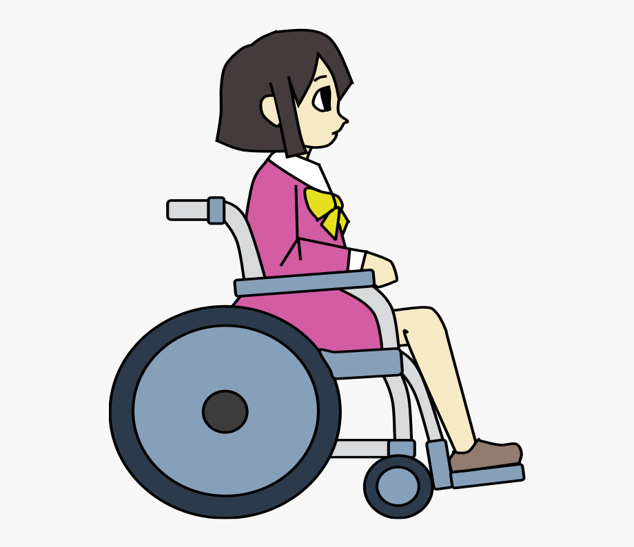 Wheelchair Girl Colour.