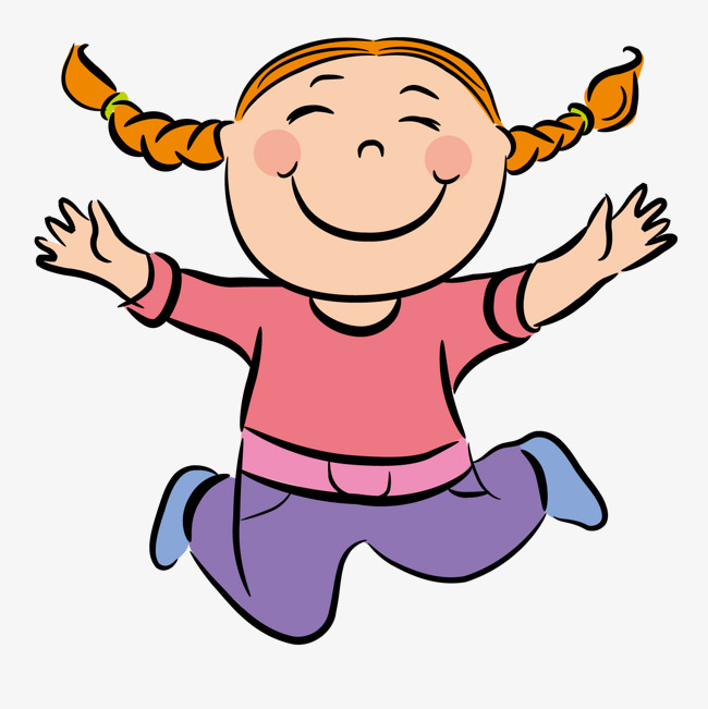 Girl jumping clipart 5 » Clipart Station.