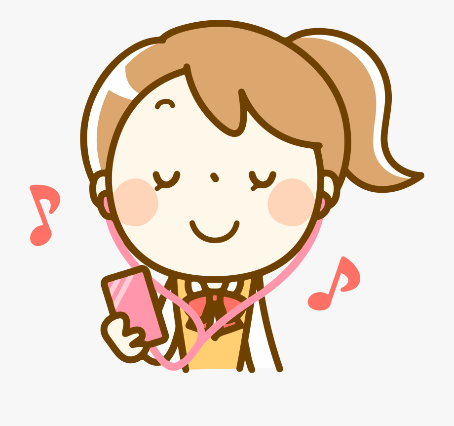 Listening To Music Png.