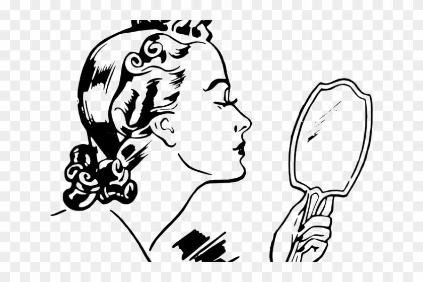 Vintage Woman Clipart.