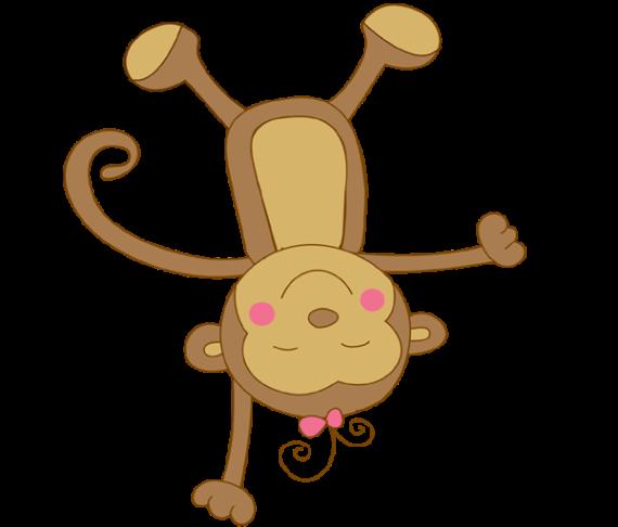 Free Clip art of Baby Monkey Clipart #659 Best Baby Girl Monkey.