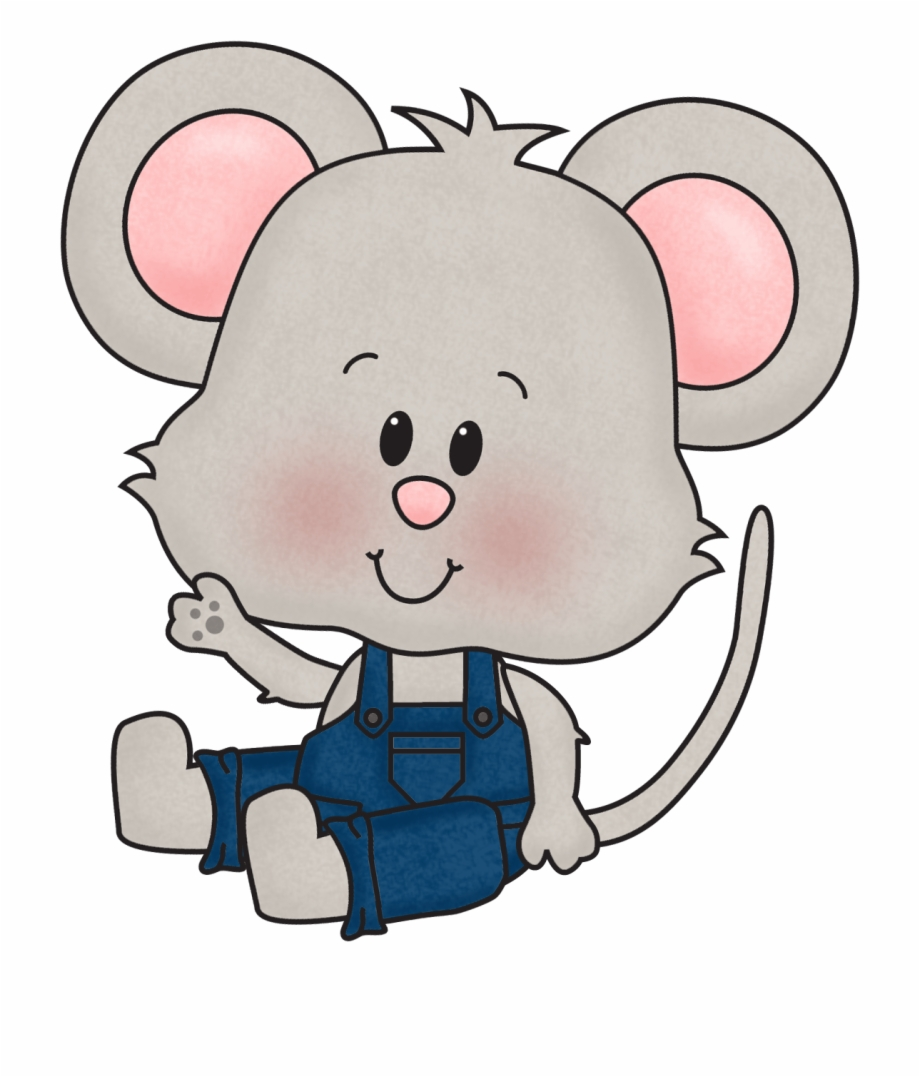 Girl Mouse Png.