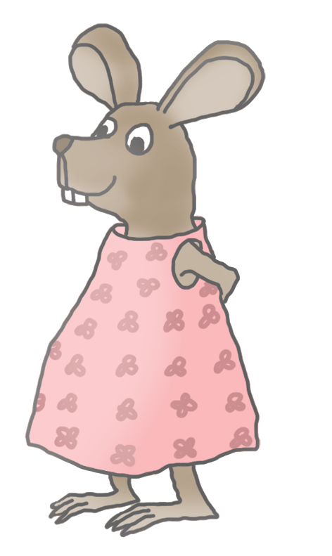 Girl Mouse Clipart #87068.
