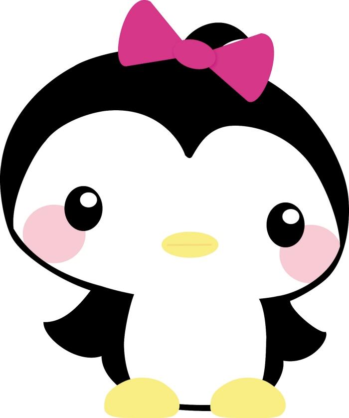 Baby girl penguin.